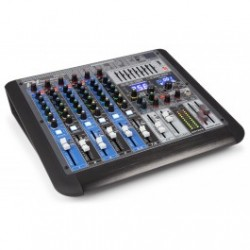 Power Dynamics PDM-S804 Mezclador analogico 8 canales Profesional