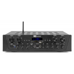 Power Dynamics PV240BT Amplificador de audio de 4 canales 400W