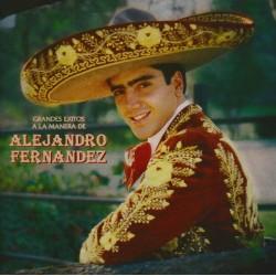 CD, ALEJANDRO FERNANDEZ - GRANDES EXITOS